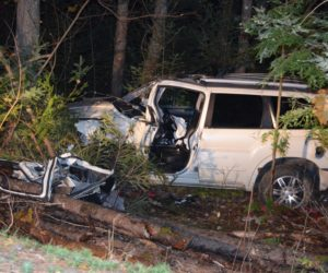 Woman Extricated From SUV, Flown to Hospital After Wiscasset Crash