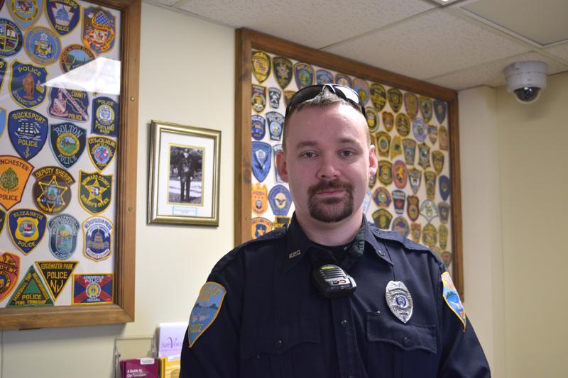 Officer Jonathan Barnes. (Jessica Clifford photo)