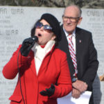 Wiscasset Service Honors Veterans, Despite Wind and Cold