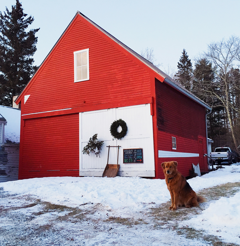 The Good Supply offers holiday hours, snow or shine.