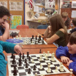 Nobleboro Central Students Play Chess