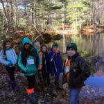 Nobleboro Students Go to Nature Center