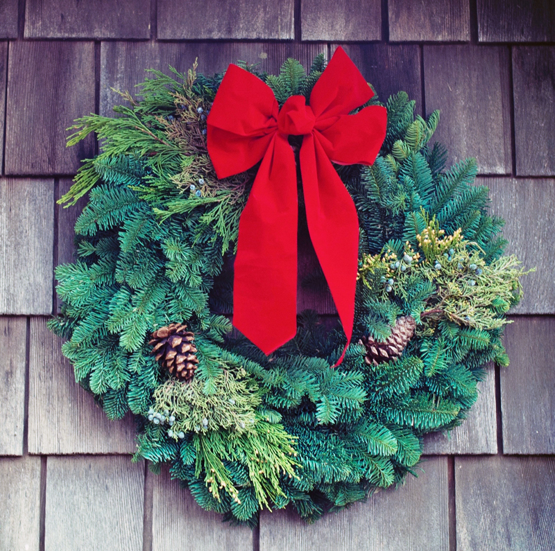 The sixth annual public wreath-making event sponsored by Sheepscott Community Church, will take place from 10 a.m. to noon, Saturday, Dec. 1. (Photo courtesy Tim Mossholder)