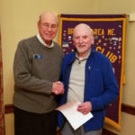 Lions Give 20-Year Service Award