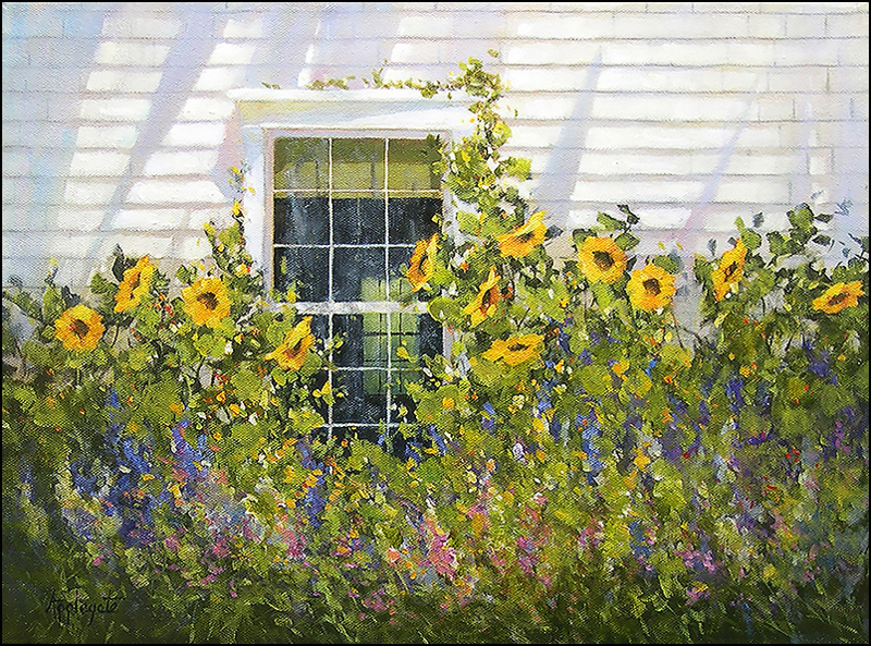 "Barbara Applegate's ""Afternoon Shadows."""