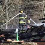 Waldoboro Barn Burns Down
