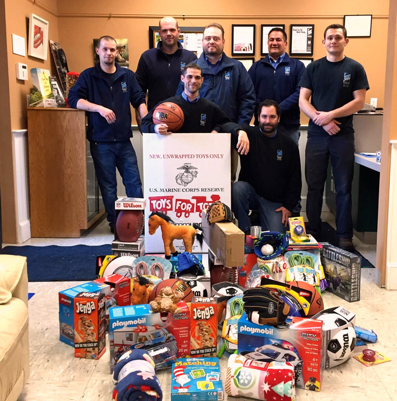 Atlantic Motorcar Center will again donate toys to local children through the Toys for Tots program. The business also serves as a drop-off point for others to give.
