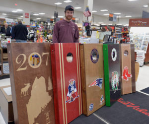 Wiscasset Business Makes Popular Cornhole Lawn Games