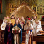 Church Christmas Pageant Welcomes Children