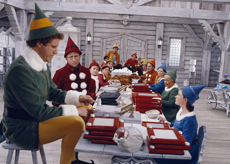 """Will Ferrell (left) stars in """"Elf."""""""
