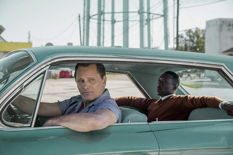 "Viggo Mortensen and Mahershala Ali star in ""Green Book,"" based on a true story, playing this week at Harbor Theater."