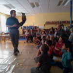 Owl Presentation at Damariscotta Montessori School