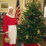 Mrs. Santa at the Bristol Area Library