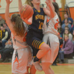 Gardiner clips the Lady Panthers
