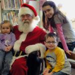Santa Visits Waldoboro Public Library