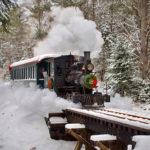 Steam Trains Running in Alna on Dec. 22