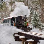 Steam Trains Running in Alna on Dec. 22
