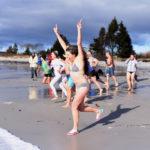 Polar Bear Dip Celebrates 10 Years at Pemaquid Beach