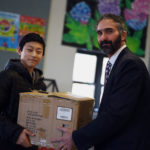 Local Businesses Buy Water Bottles for GSB Students