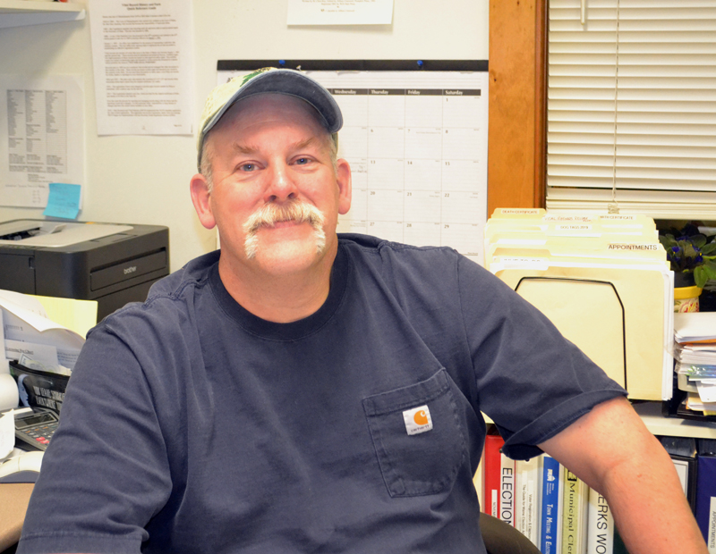Westport Island Fire Chief Stacey Hutchison. (Charlotte Boynton photo)