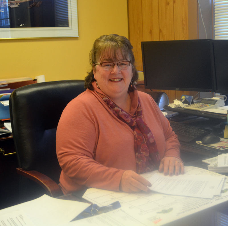 Wiscasset Town Manager Marian Anderson will leave Thursday, Jan. 31 and start work as town manager of Houlton on Feb. 18. (Charlotte Boynton photo)