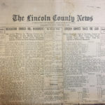 Skidompha to Host Benefit for Lincoln County News Digital Archive Project