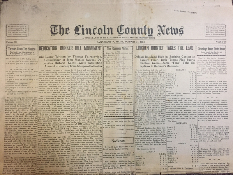 Early copies of The Lincoln County News will soon become part of the Lincoln County News Digital Archive Project.