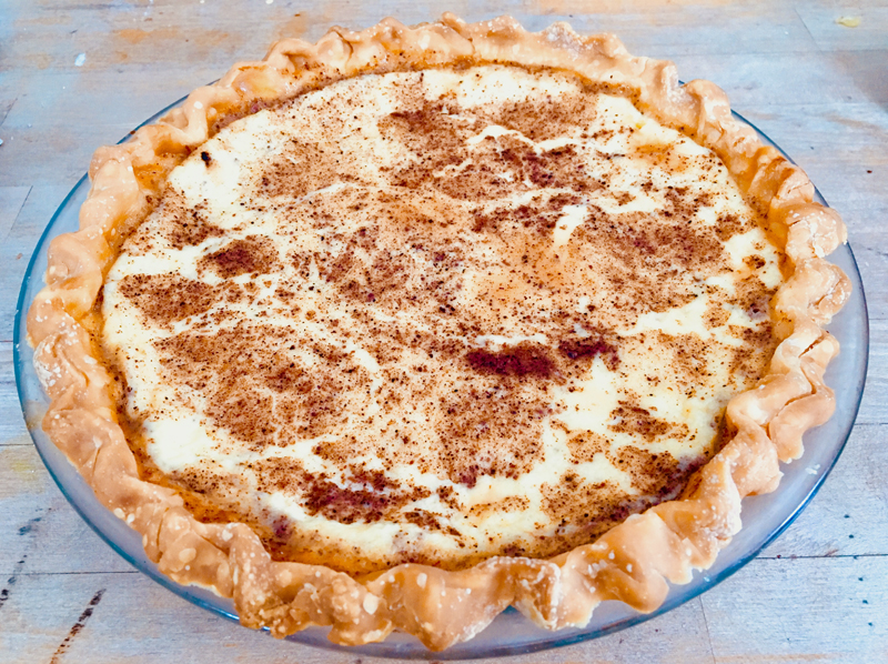 A custard pie for Helen Lewis, because I've heard she's totally awesome. (Suzi Thayer photo)