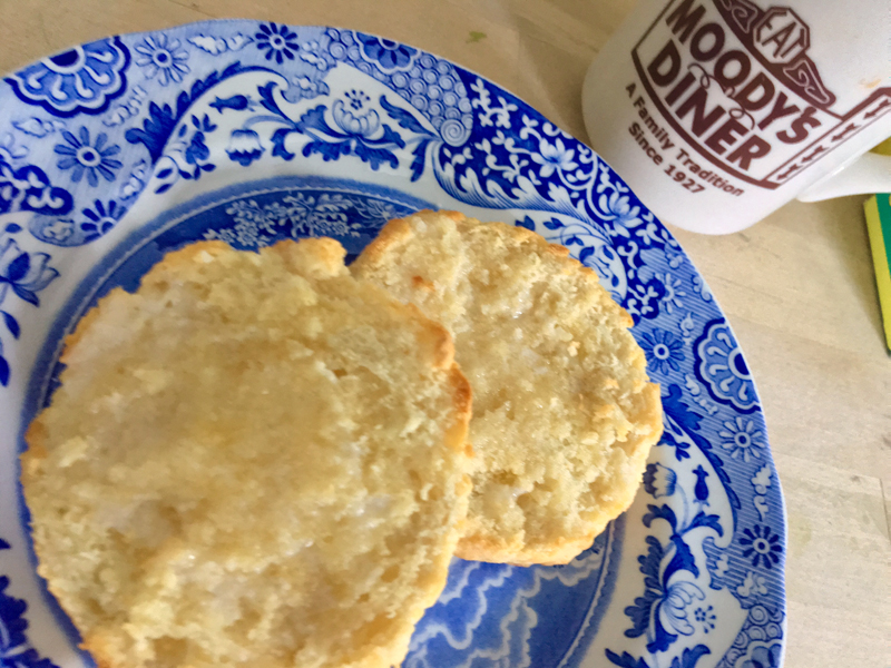 Get out the flour, milk, and butter and make some biscuits today -- then cut in half and toast tomorrow. (Suzi Thayer photo)