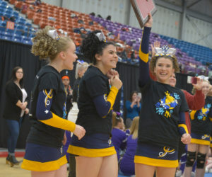 MVHS Cheerleaders Win Fifth Consecutive KVAC Title