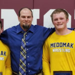 Three Medomak Valley athletes reach wrestling milestones