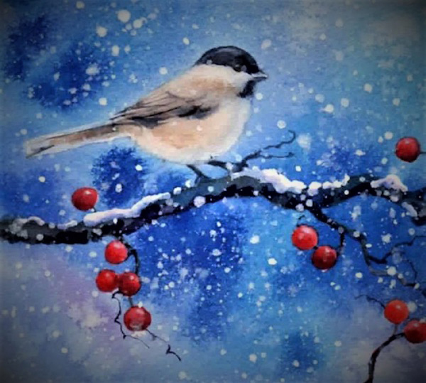 A Feed Our Scholars paint night will be held Friday, Feb. 8 from 6-8:30 p.m. in St. Philip's Episcopal Church's, when attendees will work on painting this image.
