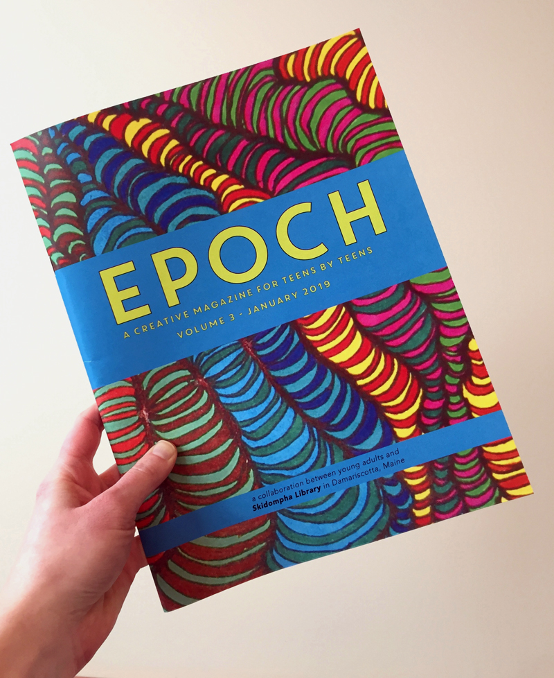 A copy of the third volume of the teen-centric literary magazine EPOCH.