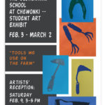 'Tools We Use on the Farm' Show at Rising Tide