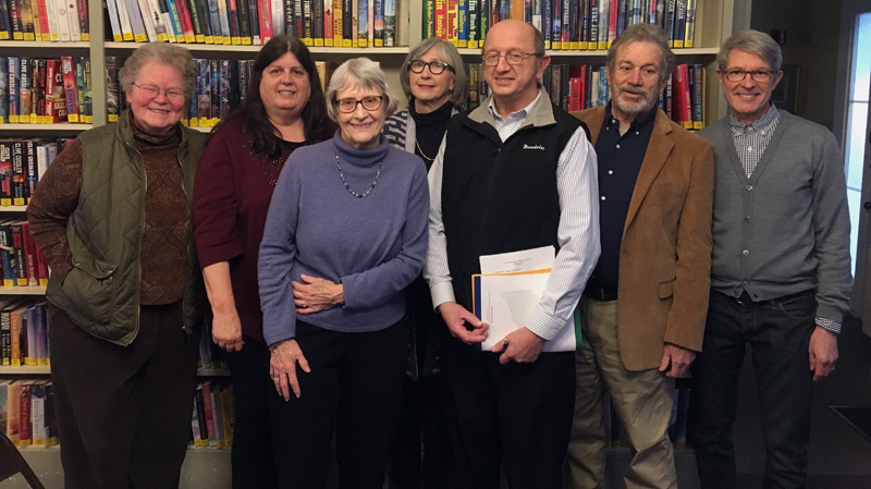 The 2019 Wiscasset Public Library Board of Trustees.
