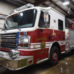 Damariscotta's New Fire Truck Arrives