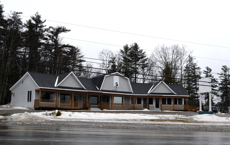 The future home of an information center and market-cafe on Route 1 in Edgecomb. The Edgecomb Planning Board approved a change of use for the building Thursday, Feb. 7. (Jessica Clifford photo)