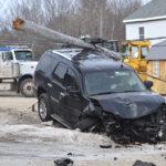 Head-on Collision of SUVs Closes Route 1 in Waldoboro
