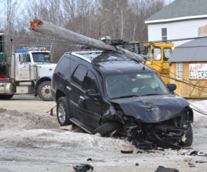 Head-on Collision of SUVs Closes Route 1 in Waldoboro