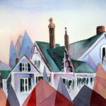 Show to Feature Jean Kigel's Whimsical Attic Window Paintings