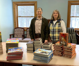 Books Donated to Sheepscot Valley Health Center in Carol Eckert's Memory