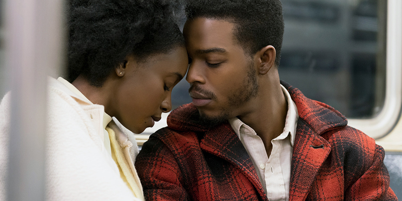 "KiKi Layne and Stephan James in ""If Beale Street Could Talk,"" playing this week at Harbor Theater."