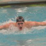 Eagle swimmer Braxton Farrin wins KVAC butterfly
