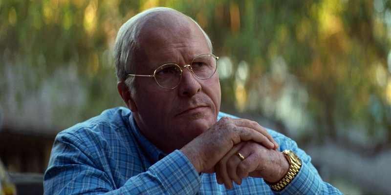 "Christian Bale as Dick Cheney in ""Vice."""