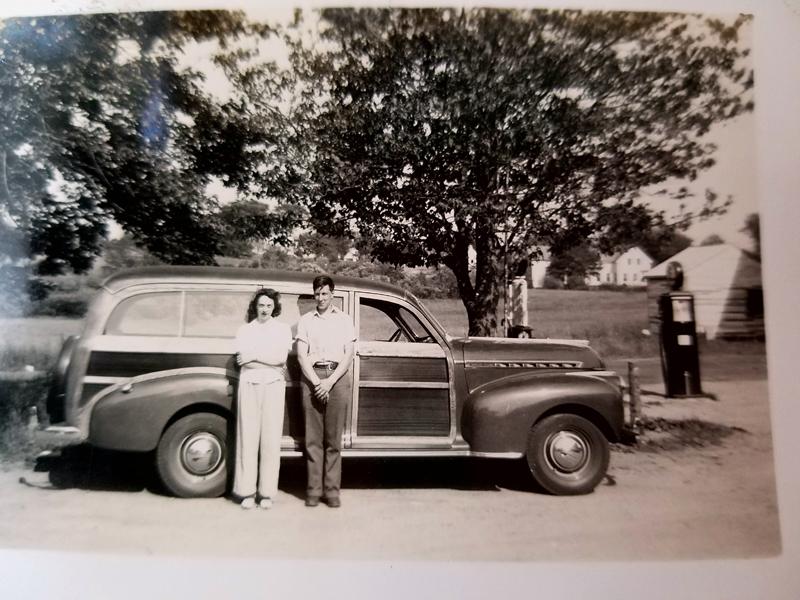 Jane Foster and Mertland Steer.