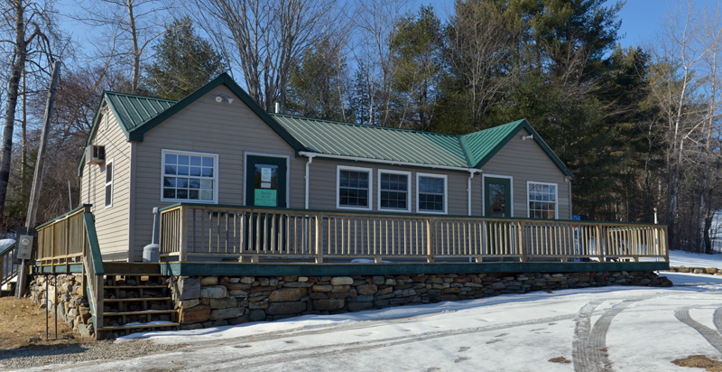 The Sheepscot Links clubhouse on Townhouse Road in Whitefield. Leon and Alicia Oliver bought Sheepscot Links on Thursday, Feb. 7. (Paula Roberts photo)