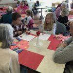 Students Bring Valentine's Day Cheer to Seniors