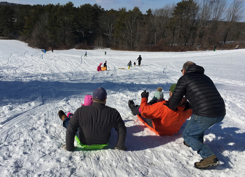 In the hope that more snow will arrive in the coming week, Winter Fest has been postponed to Sunday, Feb. 17 from noon-3 p.m.