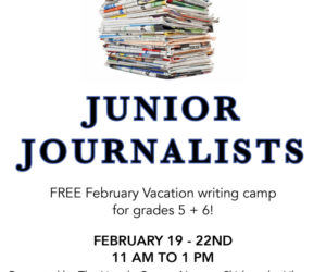 Skidompha to Host February Writing Workshops