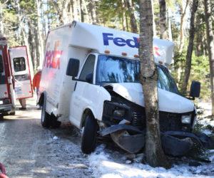 FedEx Truck Crashes in Bristol, Driver Taken to Hospital